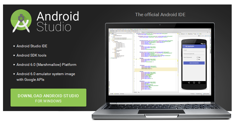 AIDE Web - Install Android Studio in Windows