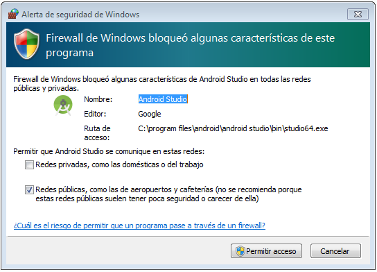 install android studio for windows 10